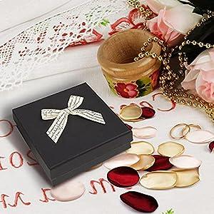 yuanxue satin rose petals, 200pcs flower petals artificial silk rose petals for wedding party flower girl basket, home decor, baby shower and valentine day (white) silk flower arrangements