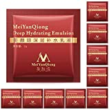 thorityau 10 paquetes de emulsión hidratante profunda ácido hialurónico hidratante abrillantador reafirmante antiarrugas belleza crema facial (rojo) boosted