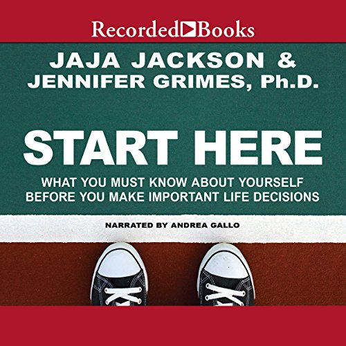 Start Here audiobook cover art