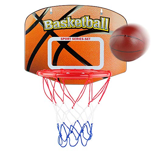 Basketball Hoop Kids Indoor Outdoor Mini Basketball Net Hanging Basket Hoop...