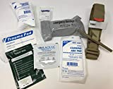 4. Hemorrhage Control IFAK - Trauma Pack with Tourniquet + Combat Bandage + Trauma Dressing + Chest Seal (Deluxe - Best Sellers Plus)