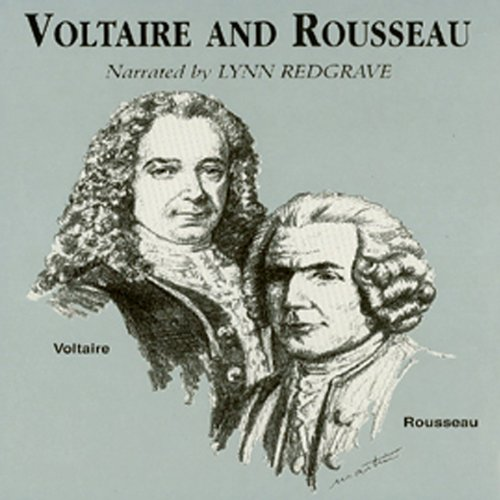 Voltaire and Rousseau audiobook cover art