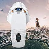 Submarino coche hinchable Scooter 4-Nivel Velocidad de rotación, Tabla de Surf Agua, Electricidad Piscina kickboard, inteligente somatosensoriales Surf Junta ayudas a la natación, se puede utilizar fo