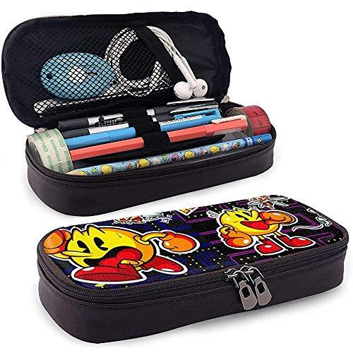 Pacman Spelen Unisex Kinderpotlood Case Pen Box Rits briefpapier Tas Draagbare opslag Tassen voor Meisje Jongen