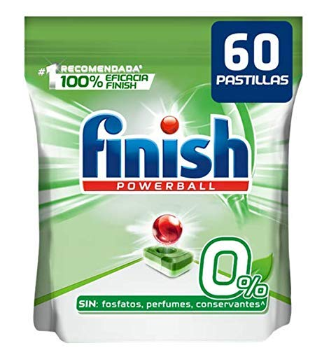 Finish Powerball 0% - Pastillas lavavajillas todo