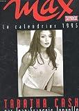 MAX. LE CALENDRIER DE 1995. TABATHA CASH PAR JEAN FRANCOIS JONVELLE