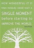 Buyartforless Anne Frank Poster mit inspirierendem Zitat,
