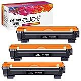 ejet TN1050 Cartucce Toner Compatibili per Brother TN1050 TN-1050 Toner per Brother HL-1110 MFC-1910W DCP-1510 HL-1210W DCP-1610W HL-1112 MFC-1810 HL-1212W DCP-1612W DCP-1512 Stampante (3 Nero)