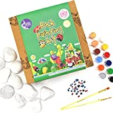 Asian Hobby Crafts Big Rock Painting Kit, Paint Colors May Vary
