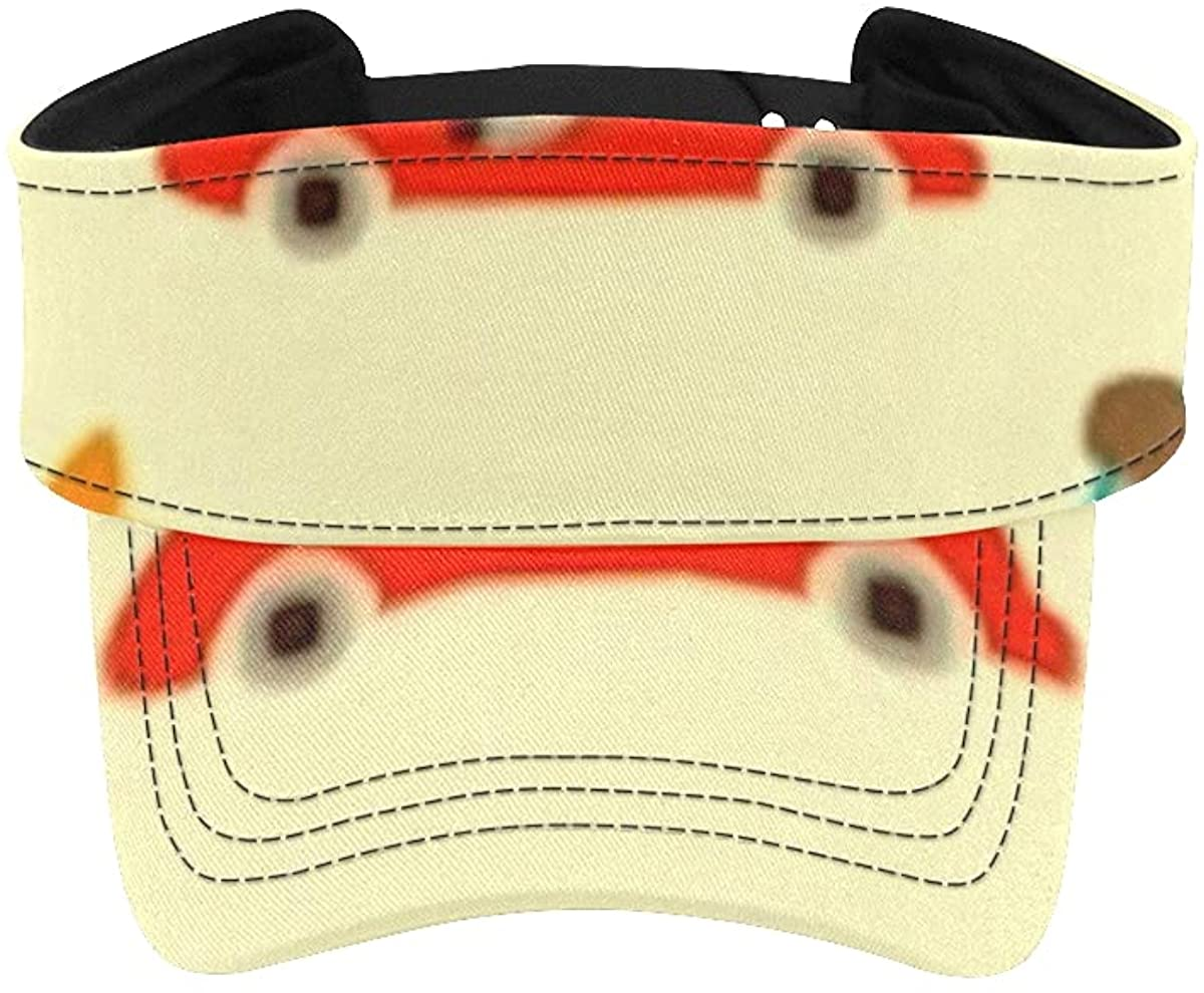 Sun Visor Hat Animals Driving Pattern Jacksonville Mall Cash special price Kids Colorful H Cars