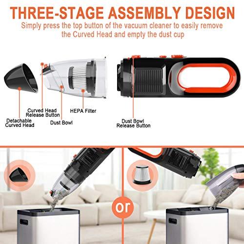 Zesgood Handheld Vacuum