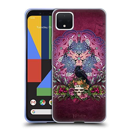 Head Case Designs Officially Licensed Brigid Ashwood Morrigans Ravens Celtic Soft Gel Case Compatible with Google Pixel 4 XL