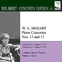 Mozart: Piano Concertos 13 & 1
