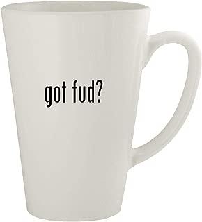 got fud? - Ceramic 17oz Latte Coffee Mug