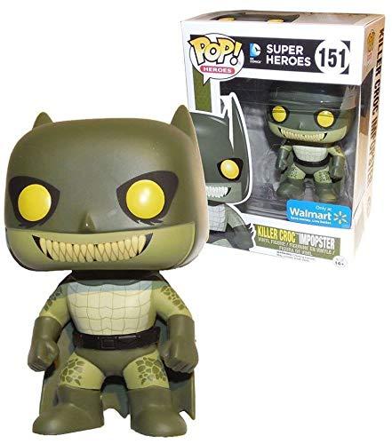 Funko Pop! Heroes 151 DC Comics Super Heroes Killer Croc Configurer Only at Walmart