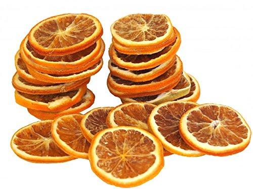 50 Stück Orangenscheiben Orangen Weihnachten Adventskranz Streudeko Deko getrocknet