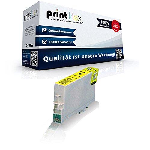 Kompatible Reinigungspatrone für Epson Stylus DX 3850 Plus 4200 4200 Series 4250 4800 4800 Series 4850 T0614 T 0614 Gelb Yellow - Color Line Serie