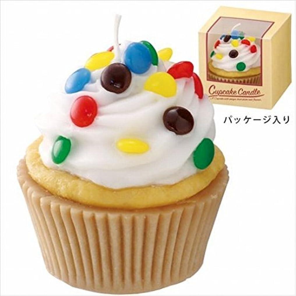 不十分ナチュラル男らしいカメヤマキャンドル(kameyama candle) アメリカンカップケーキキャンドル 「 ホワイトクリーム 」