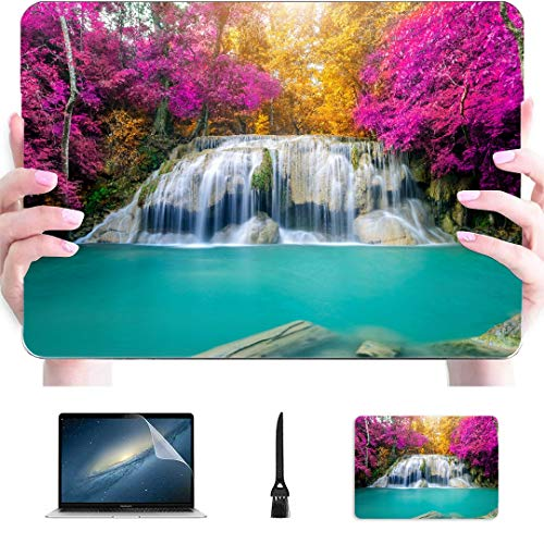 Laptop Case Mac Amazing View Autumn Forest Landscape Plastic Hard Shell Compatible Mac Air 13' Pro 13'/16' Macbook Pro 15 Case Protective Cover For Macbook 2016-2020 Version