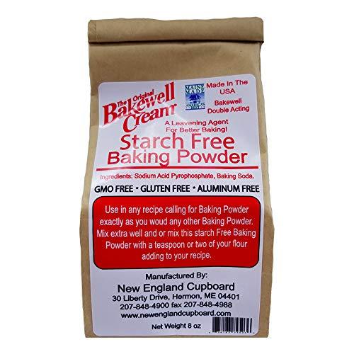 Original Bakewell Cream Starch Free Baking Powder, 8 Ounce