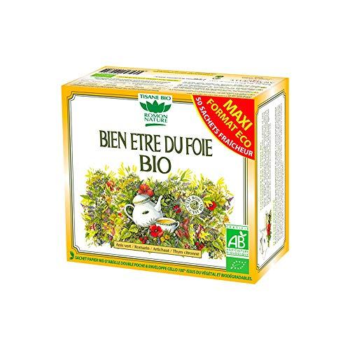 ROMON NATURE / PLANTASIA - BIEN ETRE FOIE FORMAT ECO 50 SACHETS 80G