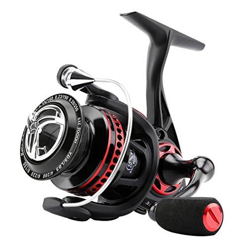 Carrete giratorio para pescar con eje resistente a la corrosión de SeaKnight, 6,2:1, Full metal 11BB, diseño suave y potente, para agua dulce y salada