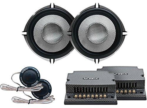 Earthquake Sound VTEK-MC5 Jeu de Composants avec tweeters et Xovers passifs 13,3 cm