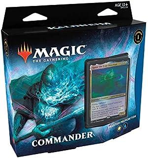 Magic The Gathering: Kaldheim  Commander Deck   Phantom Premonition   99 cards   1 Foil Commander   10 Tokens Dupla Face  ...
