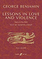 Lessons in Love and Violence: Opera in Two Parts, Full Score (Faber Edition)