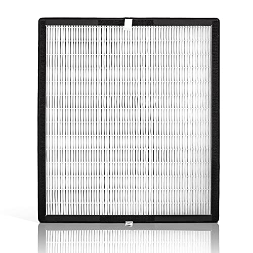 Alen (FF50-Silver-Carbon HEPA-Silver-Carbon Replacement Filter for BreatheSmart FIT50 Air Purifier, 1-Pack