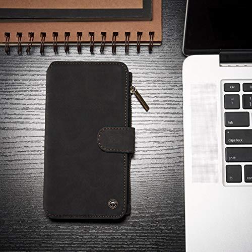 PROTECTISGGIOCOVER + 007 for Galaxy S8 + / G955 Crazy Horse Texture Flip Cover posteriore rimovibile in pelle con slot schede e portafoglio e cornice fotografica , Cassa del telefono della protezione
