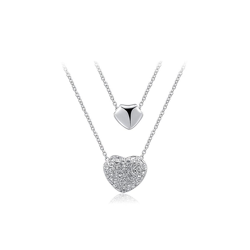 中断類似性船形キラキラ水晶のネックレス 恋人のプレゼントネックレス かわいい鎖骨のネックレス 人気商品 バレンタインデーのプレゼント