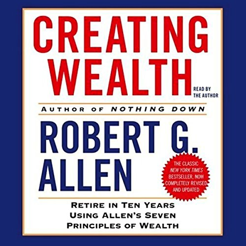 Creating Wealth audiobook cover art
