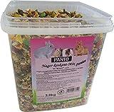 Panto - Alimento para roedores, Mezcla Premium de 3 kg, 1 Unidad (3 kg)