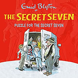 Puzzle for the Secret Seven     Secret Seven, Book 10              By:                                                                                                                                 Enid Blyton                               Narrated by:                                                                                                                                 Esther Wane                      Length: 2 hrs and 32 mins     1 rating     Overall 5.0