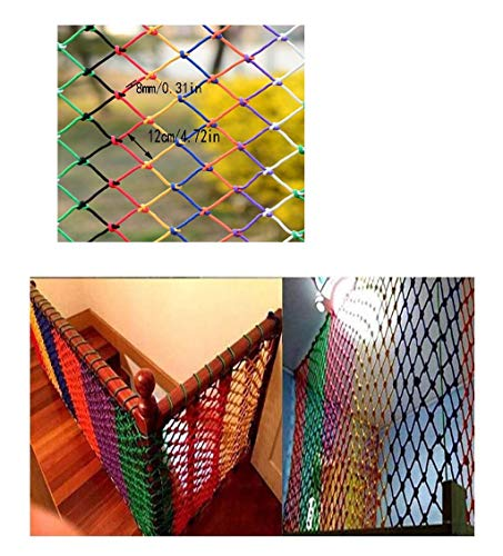 Review PLLP Safety Nets,Staircase Safety Net Children's Balcony Protection Net Kindergarten Anti-Fal...