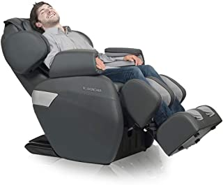 RELAXONCHAIR [MK-II Plus] Full Body Zero Gravity Shiatsu Massage Chair with Built-in Heat and Air Massage System - Charcoa...