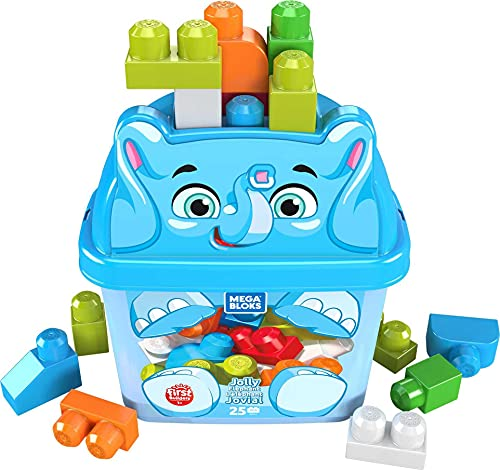 Mega Bloks GPG21 - Mega Bloks Elefant Bausteinbox...