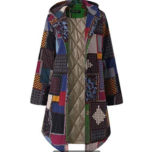 Yuyudou Unieke trenchcoat voor dames casual dunne winterwarme bovenkleding klassieke coat jas met capuchon