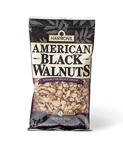 Hammons American Black Walnuts Fancy Large, 4-Ounce