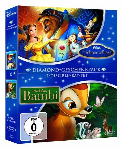 Die Schöne und das Biest / Bambi - Diamond-Geschenkpack [Blu-ray]