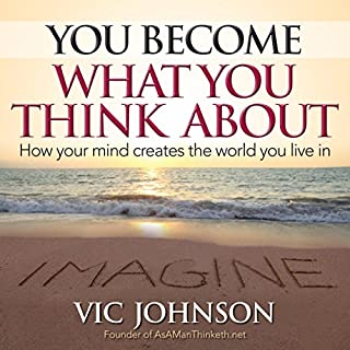 You Become What You Think About audiobook cover art