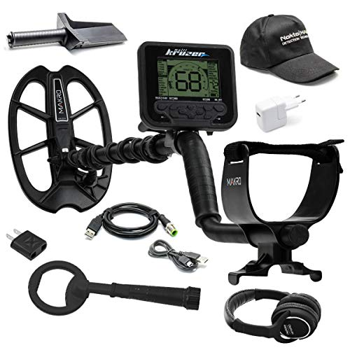 Fantastic Deal! Nokta Makro Multi Kruzer Detector Bundle with Pulsedive Scuba Detector, Hat, and Dig...