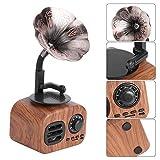 Tocadiscos de fonógrafo, altavoz retro, portátil, Bluetooth, clásico, clásico, reproductor de...