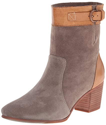 Sebago Women's Nell Ankle Boot, Dark Taupe Suede, 10 M US