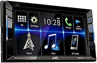 "JVC KW-V230BT Multimedia Receiver 6.2"" WVGA Clear Resistive Touch Panel/Bluetooth/13-Band EQ"