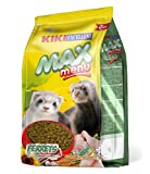 KIKI Alimento Completo para Hurones MAX Menu 1Kg