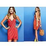 Cisne 2013, S.L. Vestido Toalla de Playa para Mujer. Vestido converitible en Toalla o Manta para la ...