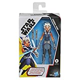 Star Wars Galaxy of Adventures Ahsoka Tano Toy 5-Inch-Scale Action Figure with Fun Lightsaber Accessory Feature, Toys for Kids Ages 4 and Up