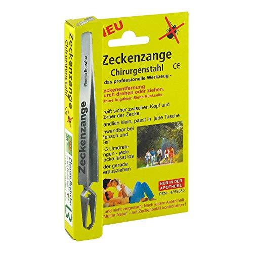Pharma Brutscher Zeckenzange Chirurgenstahl, 1 St. Zeckenentferner